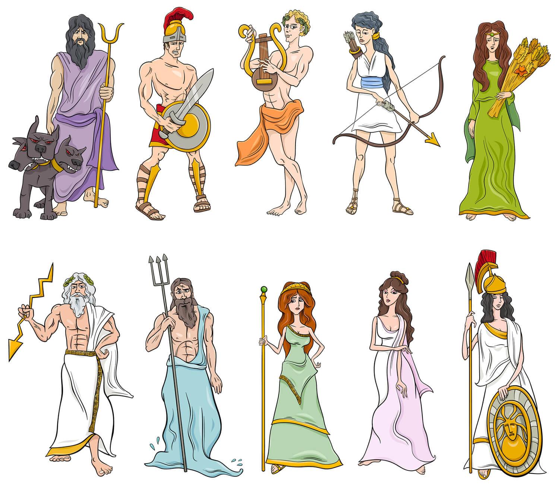 Mitos y leyendas de la Antigua Grecia. Familias con niños.
