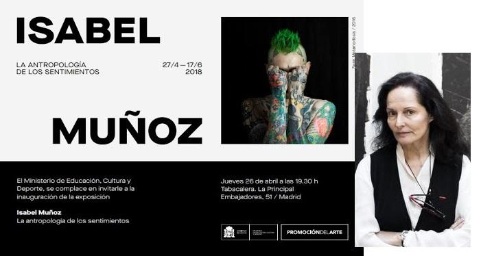 Exposición de Isabel Muñoz en Tabacalera